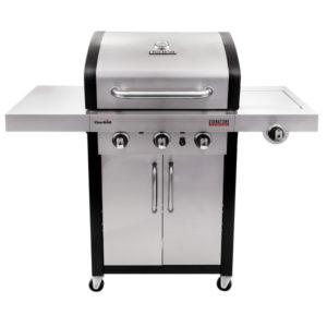 Lò nướng BBQ dùng gas Char-Broil TRU-Infrared Signature 3-Burner 3000 SS SLOPPED LID #467700217