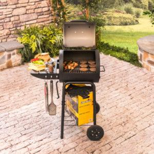 Lò nướng than BBQ CHAR-BROIL AMERICAN GOURMET® CHARCOAL GRILL MODEL #17302054